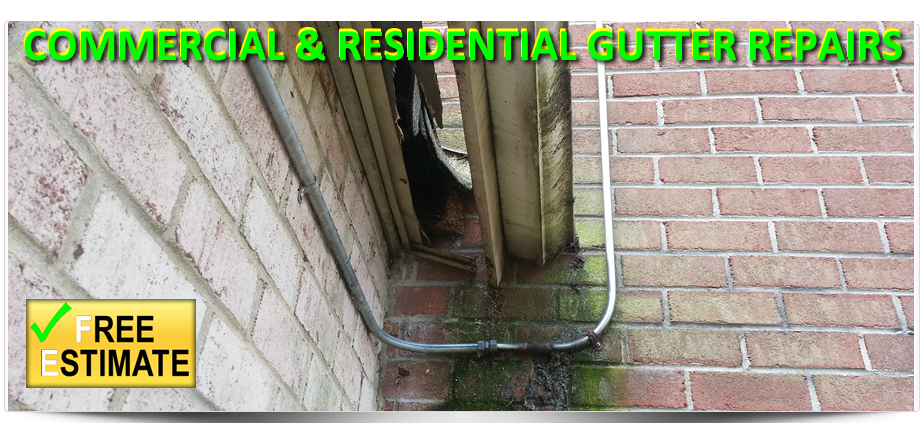 South Jersey Commercial and Residential Gutter Repairs