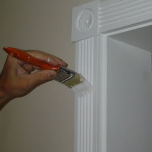 Intro Interior Home Room Trim Painting 1