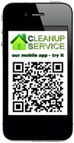 Try the Cleanup Service Mobile Version and APP