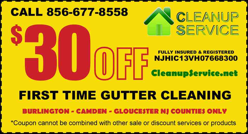 South Jersey Gutter Cleaning Cleanup Service in NJ Cost