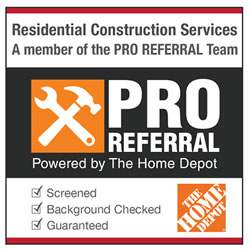 Top NJ Home Services Help on Home Depot ProReferral.com