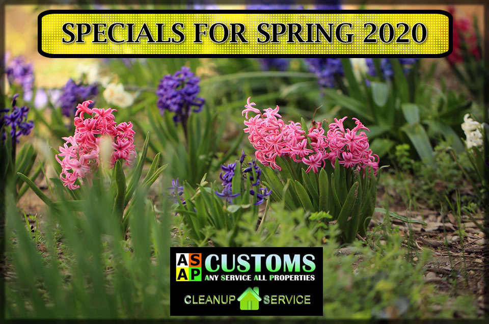 Cleanup Service South Jersey Gutter Cleaning Spring 2020 Property Home Service Yard Maintenance Specials
