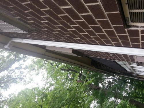 apartment-commercial-downspout-installed